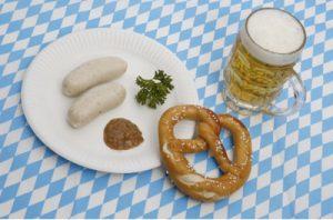 Biała kiełbasa z Bawarii